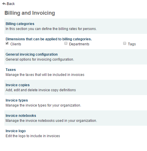 Feng Office Wiki - Different types of invoices